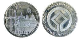 02233 GETTONE TOKEN JETON BELGIUM WORLD HERITAGE BRUSSELS GRAND PALACE - Nederland