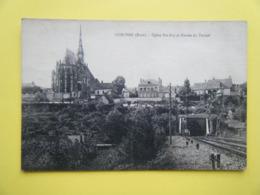 CONCHES EN OUCHE. L'Eglise Sainte Foy Et L'Entrée Du Tunnel. - Conches-en-Ouche