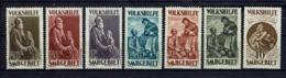 Sarre - 1929 - Série 125/131 - Neufs Sans La Gomme - (X) - B/TB - - Unused Stamps
