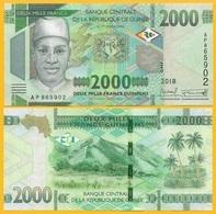 Guinea 2000 Francs P-new 2108 / 2019 UNC Banknote - Guinea