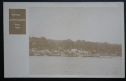 Ocean Island Real Photo Postcard.  Ooma, Ocean Island 1901. - Sonstige