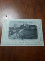 Cartolina Postale 1899, Relkum, Heelsumsche Kerk - Renkum