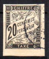 Col17  Emissions Générales Taxe N° 8 Oblitéré  Cote : 12 Euros - Postage Due