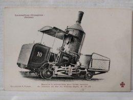 Locomotives étrangères. Machine à Crémaillère. Vitznau Righi. Suisse - Trains