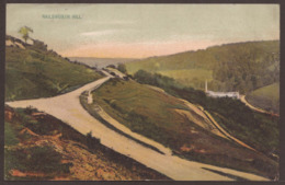 GREAT BRITAIN. POSTCARD. NAILSWORTH HILL. MH REDMAN. USED. GLOSCESTERSHIRE. - England