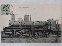 Locomotives. Machine De Trains De Marchandises De La Cie P.L.M. Série 3200 Et 3300 - Trains