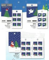 CANADA, 2016, Booklet 659/62, Four Christmas Booklets - Full Booklets