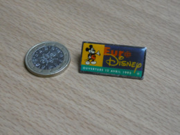 EURO DISNEY. MICKEY  .OUVERTURE 12 AVRIL1992. - Disney