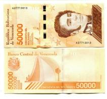 Venezuela P.new 50000 Bolivares 2019   Unc - Venezuela
