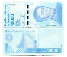 Venezuela P.new 10000 Bolivares 2019   Unc - Venezuela