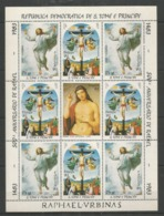 S.TOME E PRINCIPE - MNH - Art - Painting - Easter - 1983 - Raphael - Religious