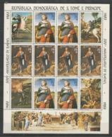 S.TOME E PRINCIPE - MNH - Art - Painting - Raphael - Religious