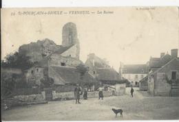 St Pourçains Sur Sioule   Verneuil    Les Ruines    Animation - Altri Comuni