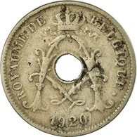 Monnaie, Belgique, 10 Centimes, 1920, TB+, Copper-nickel, KM:85.1 - 1909-1934: Albert I