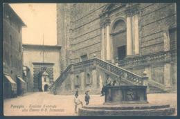 Umbria PERUGIA Scalone D'entrata Alla Chiesa Di S. Domenico - Perugia