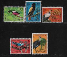 SOMALIA - 1966 - 5 VALORI NUOVI STL. - FAUNA - UCCELLI DIVERSI - IN OTTIME CONDIZIONI. - Somalie (1960-...)