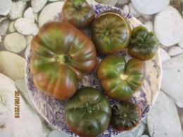 25 Graines De Tomates Noire De Crimée Cultivé Bio En Serre Et En Pleine Terre Sans Bouillie Bordelaise - 2. Samenkörner