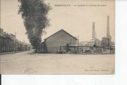 ABBEVILLE   La Sucrerie Et L'avenue De Calais  1928 - Abbeville