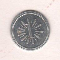 Caribe  / Cuba TOKEN CENTRAL MAPOS  1 CENTAVO Aluminio 20 Mm - Tokens & Medals