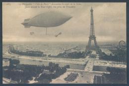 75 PARIS Le Dirigeable Aviation - Dirigeables