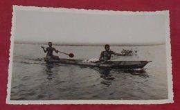 Dahomey - Jeunes Piroguières Revenant Du Marché ::::: Femmes Seins Nus - Nue  ------ 504 - Dahomey