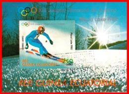 GUINEA ECUATORIAL HOJITA AÑO 1980 JUEGOS OLIMPICOS - Guinea Ecuatorial