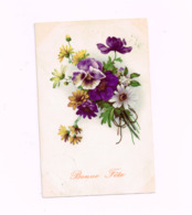 Bonne Fête.Fleurs.Expédié De Bois-de-Breux à Merksem - Holidays & Celebrations
