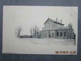 CPA 59 Nord  BOUCHAIN - La Gare Des Chemins De Fer , Diligence Devant La Gare  Phototypie A Breger Frères Paris  1910 - Bouchain