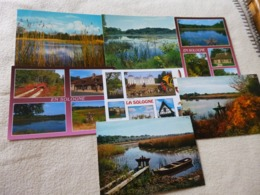 LOT DE 7 CARTES .....PAYSAGES DE SOLOGNE - Ansichtskarten