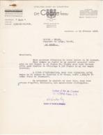 Brief Met Hoofding De Coene Frères - Ateliers D'art De Courtrai - 1948 - Belgique