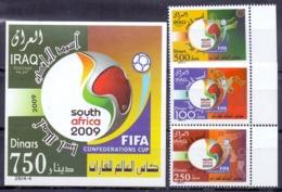 2009 IRAQ Complete Set 3 Values +1 Souvenir Sheets MNH S.G.No.2264-2267 - Iraq