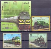 2010 IRAQ Complete Set 3 Values +1 Souvenir Sheets MNH S.G.No.2277-2280 - Iraq