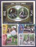 2010 IRAQ Complete Set 4 Values +1 Souvenir Sheets MNH S.G.No.2281-2285 - Iraq