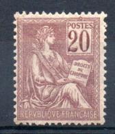 FRANCE - YT N° 113 - Neuf * - MH - Cote: 60,00 € - Francia