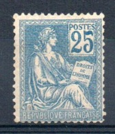 FRANCE - YT N° 114 - Neuf * - MH - Cote: 135,00 € - France