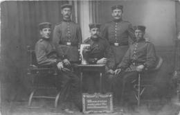DONAU CARTE PHOTO 1919  SOLDATS ALLEMANDS - Da Identificare