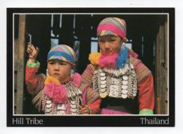 Thailande: Hill Tribe, Lisu Hilltribe Children, Chiang Mai, Enfant En Costume Folklorique (19-1682) - Thaïlande