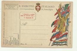 CARTOLINA REGIO ESERCITO IN FRANCHIGIA NUOVA FP - Guerra 1914-18