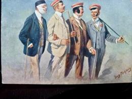 CARTE POSTALE _ CPA VINTAGE : GENTLEMAN _ CANNES _ 1912      // CPA.FTS.276.13.S5 - Illustrators & Photographers