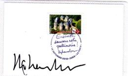 F 2019, Château De Lassay, Pays De Loire, Sur Bristol, Obl 1er Jour 12/09/19, Dédicace Stéphane Bern, Patrimoine, - Châteaux