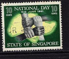 Singapore, 1961, SG 62, Used - Singapore (1959-...)