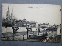 CPA 91 DOURDAN - La Rue Jubé De La Perrelle Vers 1910 - Dourdan