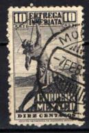 MESSICO - 1934 - ARCIERE INDIANO - USATO - Messico