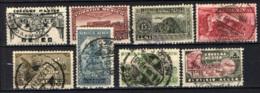 MESSICO - 1934 - Symbols Of Air Service, Tlaloc, God Of Water, Orizaba Volcano, Aztec Bird-Man - USATI - Messico