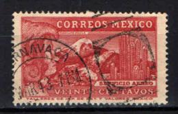 MESSICO - 1934 - Eagle Man - USATO - Messico