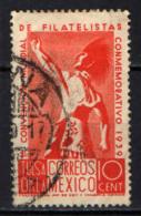 MESSICO - 1939 - Indian, Tulsa World Philatelic Convention - USATO - Messico