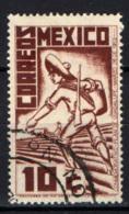 MESSICO - 1938 - Revolutionary Soldier - USATO - Messico