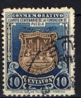 MESSICO - 1931 - STEMMA DI PUEBLA - 400° ANNIVERSARIO - USATO - Messico