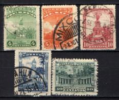MESSICO - 1923 - Monumentoa Colombo, Monumento A Josefa Ortiz, Colonnato - USATI - Messico