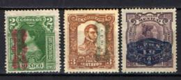 MESSICO - 1915 - PERSONALITA' CON SOVRASTAMPA - OVERPRINTED - USATI - Messico